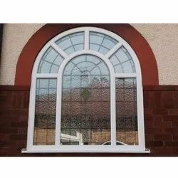 Stainless Steel Arched Window