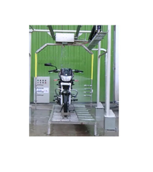 Automatic Two Wheeler Wash Machine