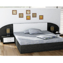 Oak Wood Black Bedroom Furniture