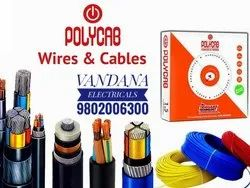 Color: Red Polycab Wire Cables, For Industrial, Electrical