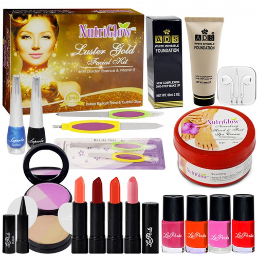 Adbeni Branded Makeup Combo Sets of 17 for Women