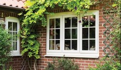 Kommerling White Square UPVC Casement Windows, For Home, Office, Glass Thickness: 10-15 Mm