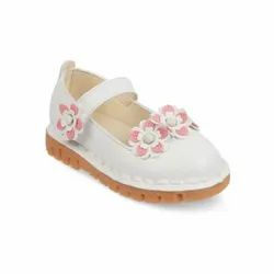 Girls White Bailey Shoes