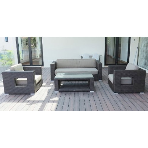 Cane Sofa Set Price In Delhi: Patio Outdoor Wicker Sofa Set, Warranty: 1 Year, Rs 68000