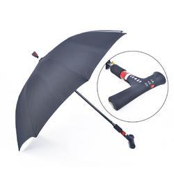 Polyester, Nylon Plain, Printed Walking Stick Umbrella