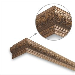 Scroll Copper Window Pelmets