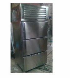 SS Three Door Vertical Refrigerator