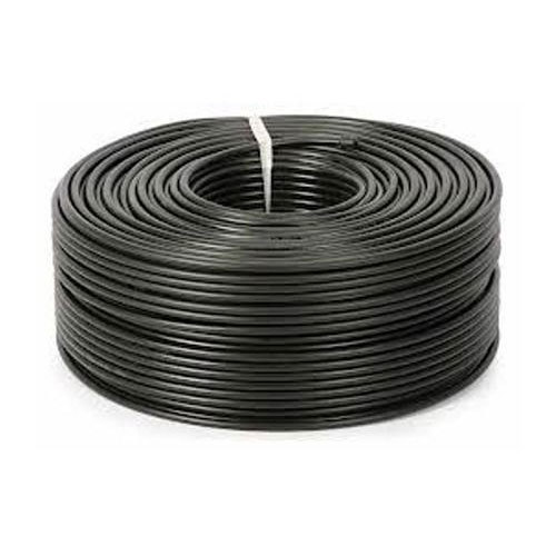 Black RG-6 Coaxial Cable, Application -CCTV