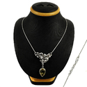 Fabulous 925 Sterling Silver Citrine Necklace