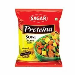 Sagar Soya Chunks, Packaging Type: Packets