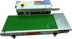 Wide Conveyor Horizontal Continuous Band Sealer