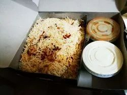Biriyani Packaging Sleeve Box