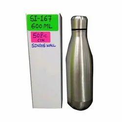 Polished 600 ML SS Water Bottle