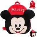 Baby Bags Velvet Kids School/Nursery/Picnic/Carry/Travelling Bag (Mickey)