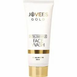 Herbal Jovees Ultra Radiance Gold Face Wash, Packaging Size: 100 mL