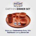 Earthen Dinner Set