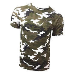 Military Cotton T Shirt, Size: M-xxl