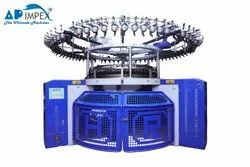 Semi-Automatic Terry Jacquard  Circular Knitting Machine