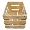 Wooden Open Face Crate