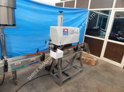 Induction Cap Sealing Machine for Lubricating oil