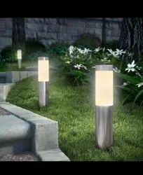 generic LED Garden Bollard Light, Mounting Type: Surface