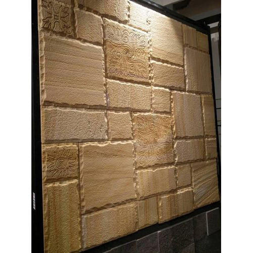 Natural Stone Designer Tile, Thickness: 10-15 mm