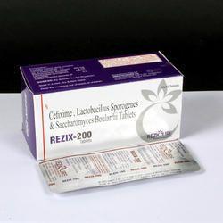 Cefixime Trihydrate 200 mg Lactic Acid Bacillus Tablet, Packaging Size: 10 x 10 Alu-Alu