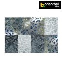 Orientbell Otf Polyester Leaf Decorative Wall Tiles, Size: 300x450 Mm