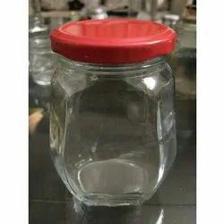 400 Ml  Honey Glass Jar