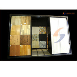 Floor Tile Vertical Sliding Stand