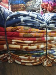 Polar Fleece Blanket  Single Bed