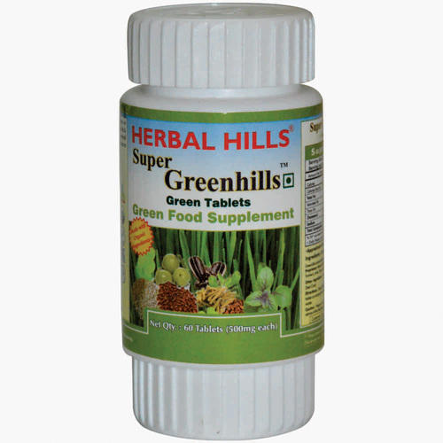 Herbal Hills Super Greenhills 60 Tablets