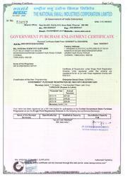 NSIC Certification