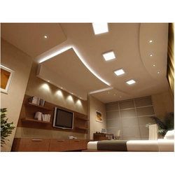 Concealed Grid Modular False Ceiling, Thickness: 6.5 mm