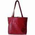 Taurus Enterprises Maroon Ladies Plain Handbag