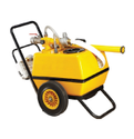 Frp Mobile Foam Trolley, Hose Length: 15 Meters, 150 Liters Tank Capacity