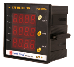 Digital VAF Meter