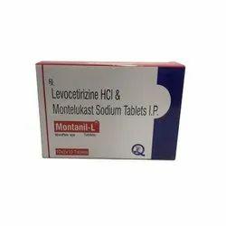 Levocetirizine HCL And Montelukast Sodium Tablets