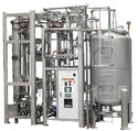 Automatic And Semi-automatic Ss Packaged Distilled Water Plant, Power Consumption (kw): 380v 50hz