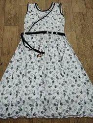 Printed Girl Monopatta Top & Leggings Dress