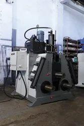 4 Inch Hydraulic Three Roller Pipe Bending Machine
