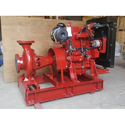 Diesel Engine End Suction Fire Fighting Pump