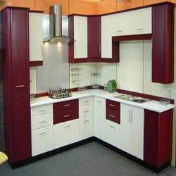 Commercial Pvc Modular Kitchen, Warranty: 1-2 Years