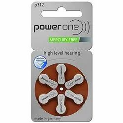 P-312 Power One Hearing Aid Battery