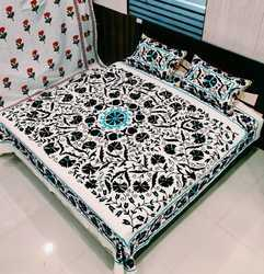 Embroidered Bed Sheets With Pillow