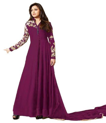791bf9884d Georgette Women's Anarkali Style Salwar Kameez, Rs 1950 /piece | ID ...