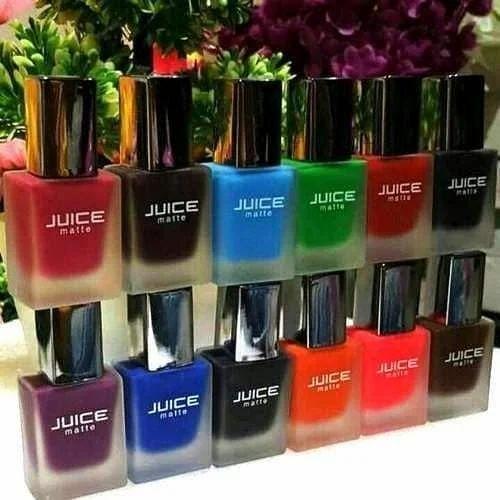 Juice Matte Nail Polish, Pack Size: 9 Ml, Rs 30 /piece, Ayaansh ...