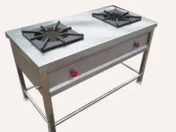 TWO BURNER GAS RANGE