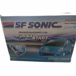65 Ah SF Sonic FS1800 Passenger Car Battery