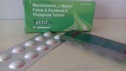 Methylcobalamin 1500 Mcg,Dha(10%)200 Mg,L-Methylfolate 1 Mg,Pyridoxal-5-Phosphate 2.5 Mg